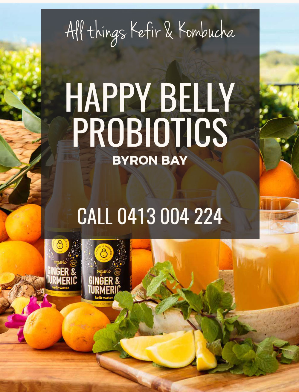 Call Happy Belly Probiotics 0413 004 224